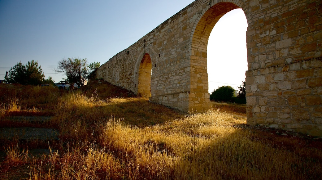 Larnaca Aqueduct which includes a ruin