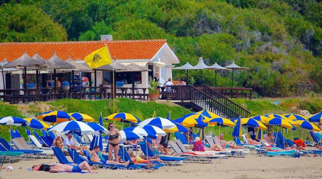 Coral Bay Beach featuring a beach