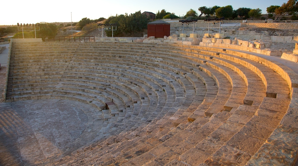 Kourion Ruins showing heritage architecture and building ruins