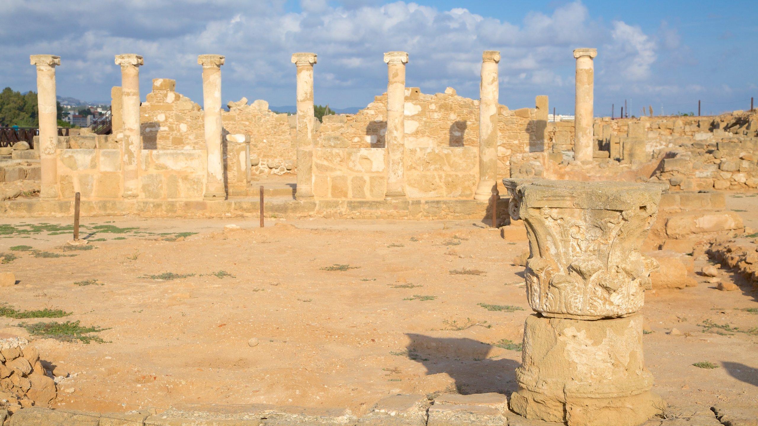 Paphos Archaeological Park, Paphos, Cyprus