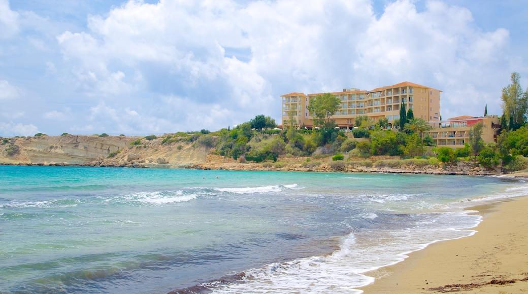 Coral Bay Beach featuring general coastal views