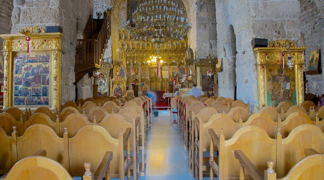 Église de Saint Lazarus mettant en vedette église ou cathédrale, patrimoine architectural et éléments religieux