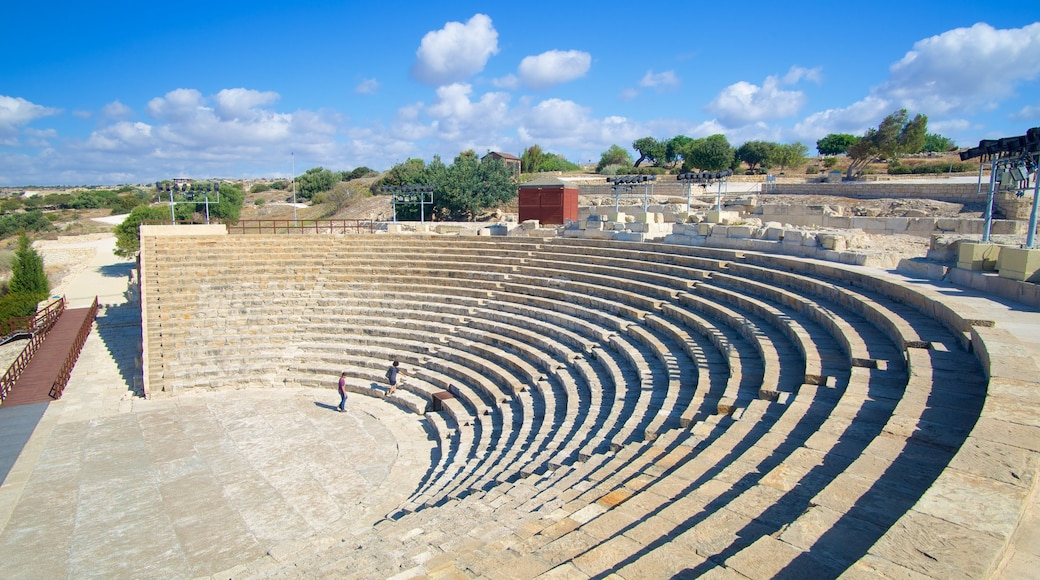Kourion Ruins featuring heritage architecture and a ruin