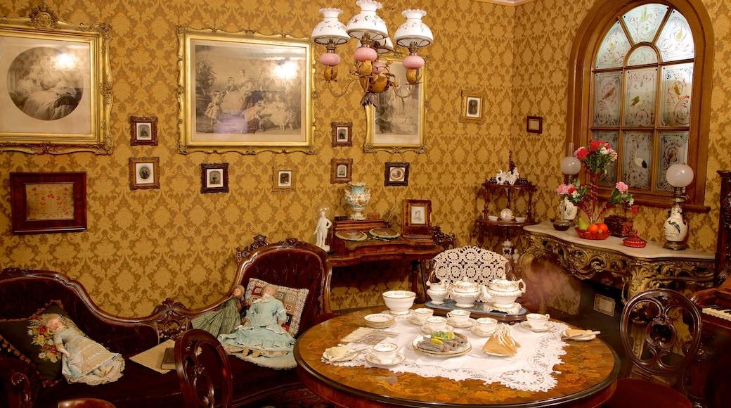 York Castle Museum showing interior views