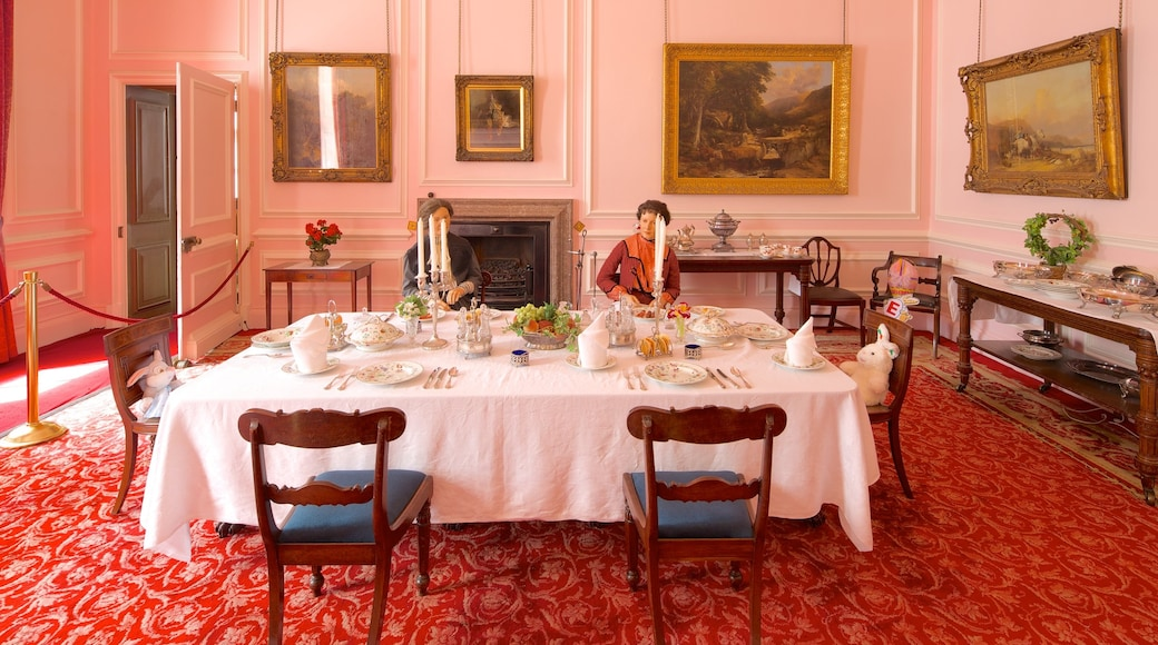 Croxteth Hall and Country Park which includes heritage elements and interior views