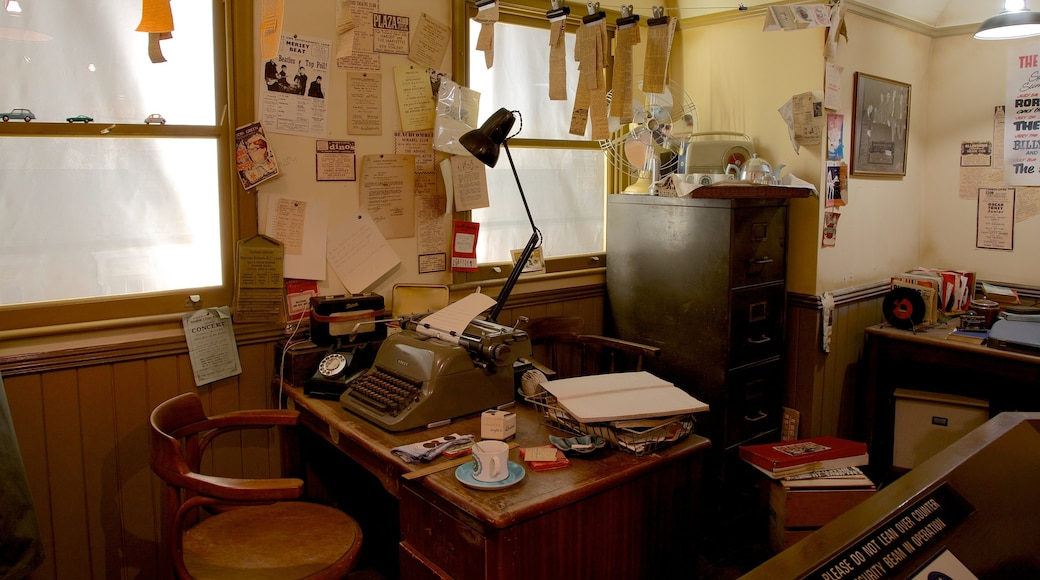 Beatles Story showing interior views