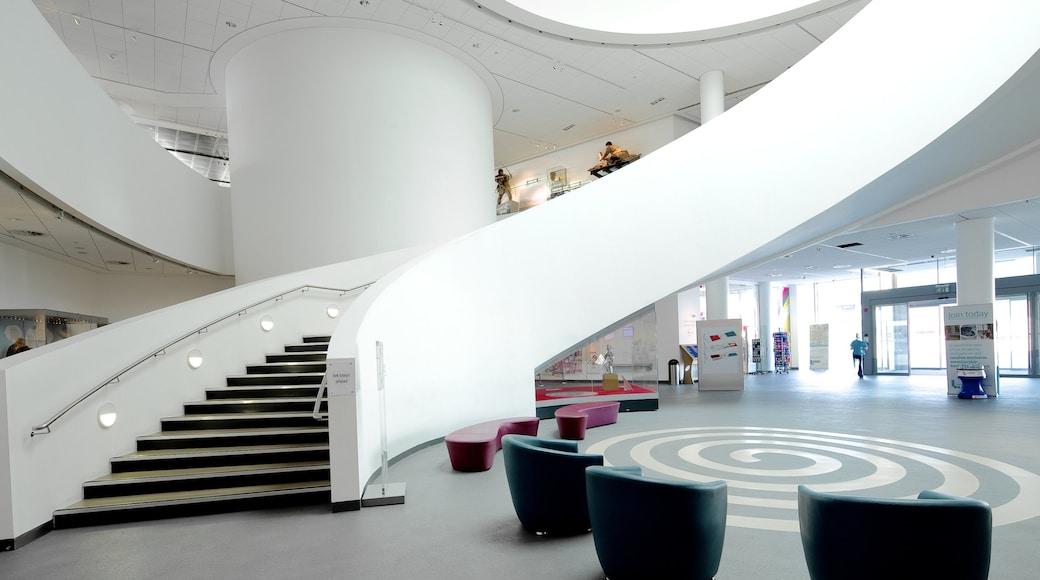 Museum of Liverpool presenterar interiörer