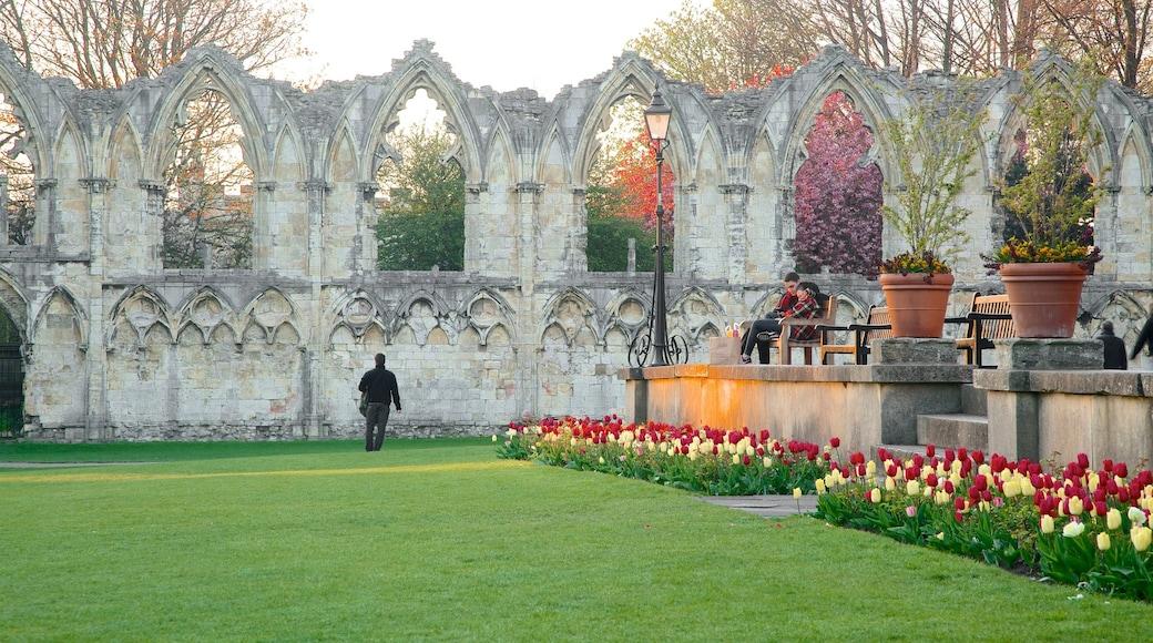 聖母修道院 呈现出 建築遺址, 歷史建築 和 公園