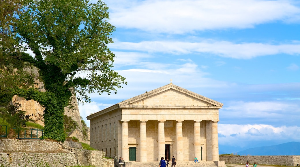 Antigua Fortaleza mostrando arquitectura patrimonial