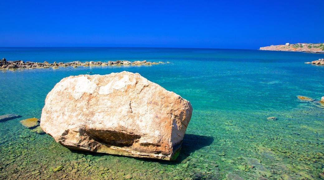 Crète mettant en vedette vues littorales