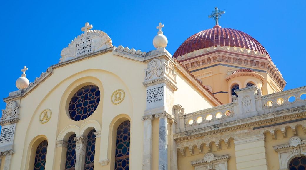 Agios Minas-kathedraal bevat een kerk of kathedraal, religieuze aspecten en historische architectuur