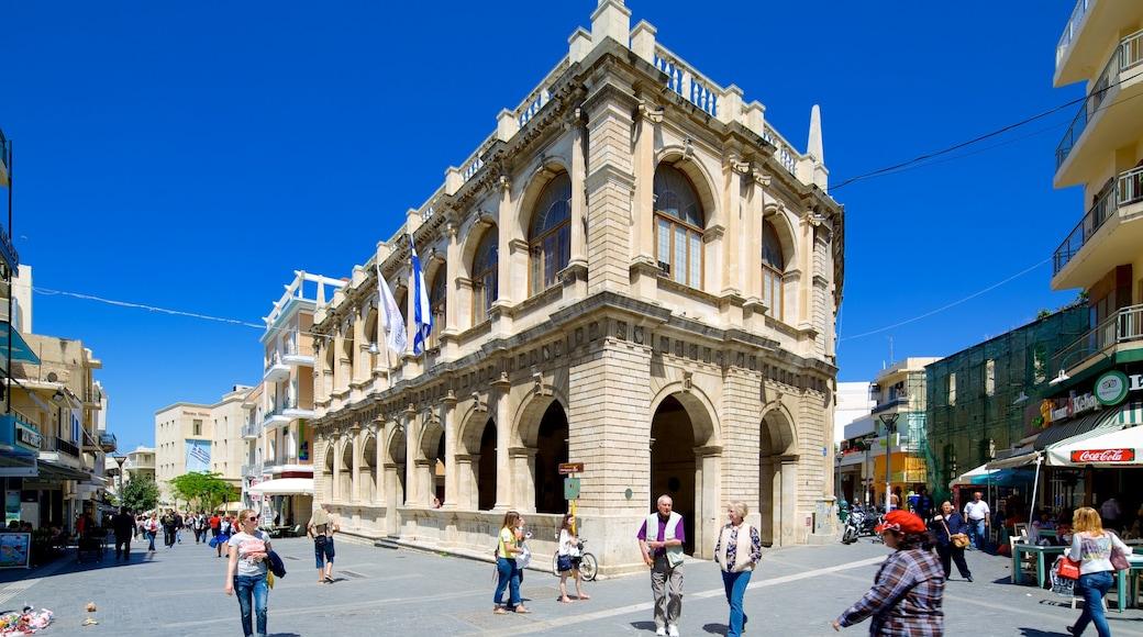 Venezianische Loggia das einen Straßenszenen und historische Architektur