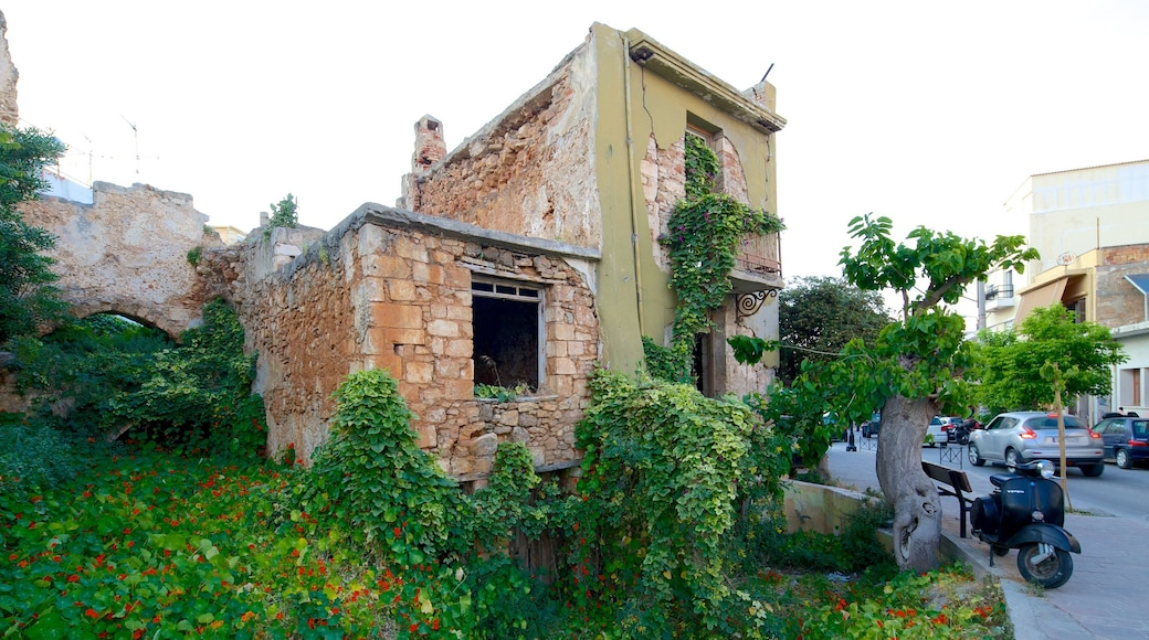 Chania featuring heritage architecture