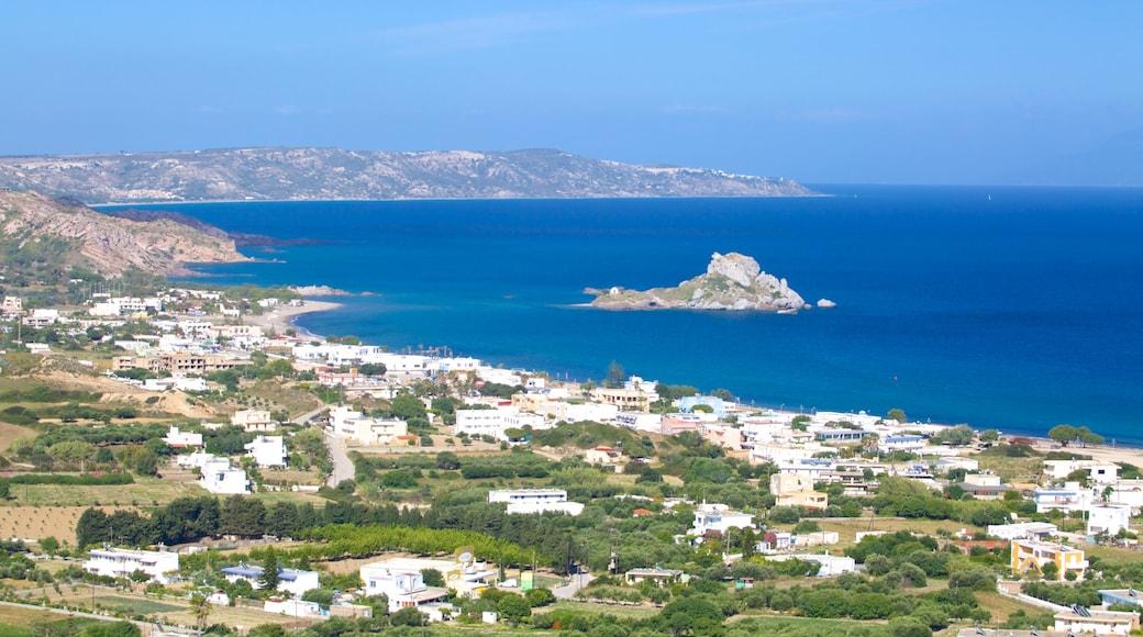 Kefalos mit einem Küstenort