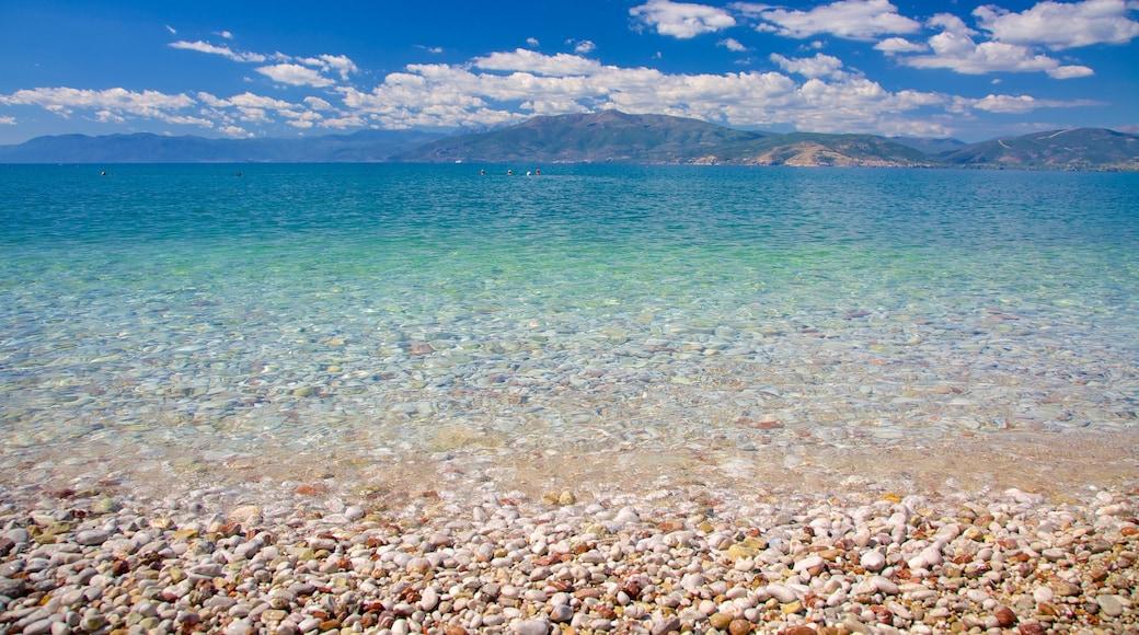 Arvanitia Beach featuring general coastal views and a pebble beach