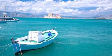 Nafplio featuring a bay or harbor