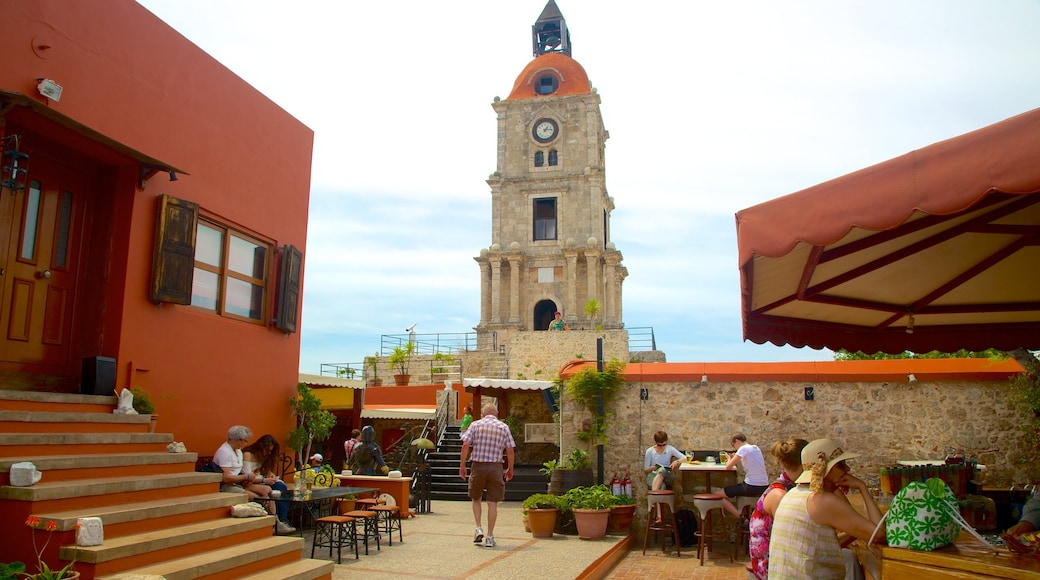 Clock Tower which includes heritage architecture