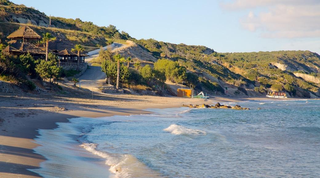 Paradise Beach mit einem allgemeine Küstenansicht und Strand