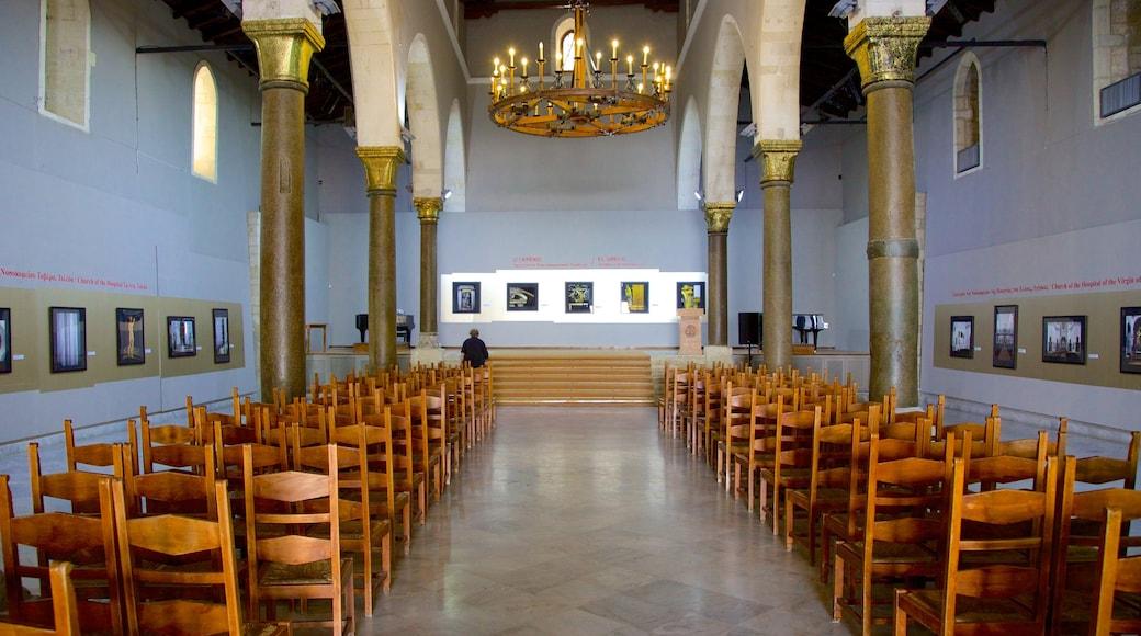 Basilika Agios Markos mit einem Kirche oder Kathedrale, religiöse Elemente und Innenansichten