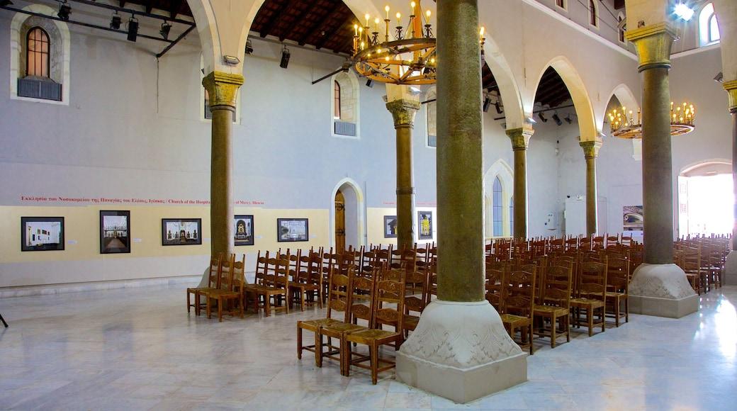 Basilika Agios Markos mit einem Innenansichten, Kirche oder Kathedrale und religiöse Elemente