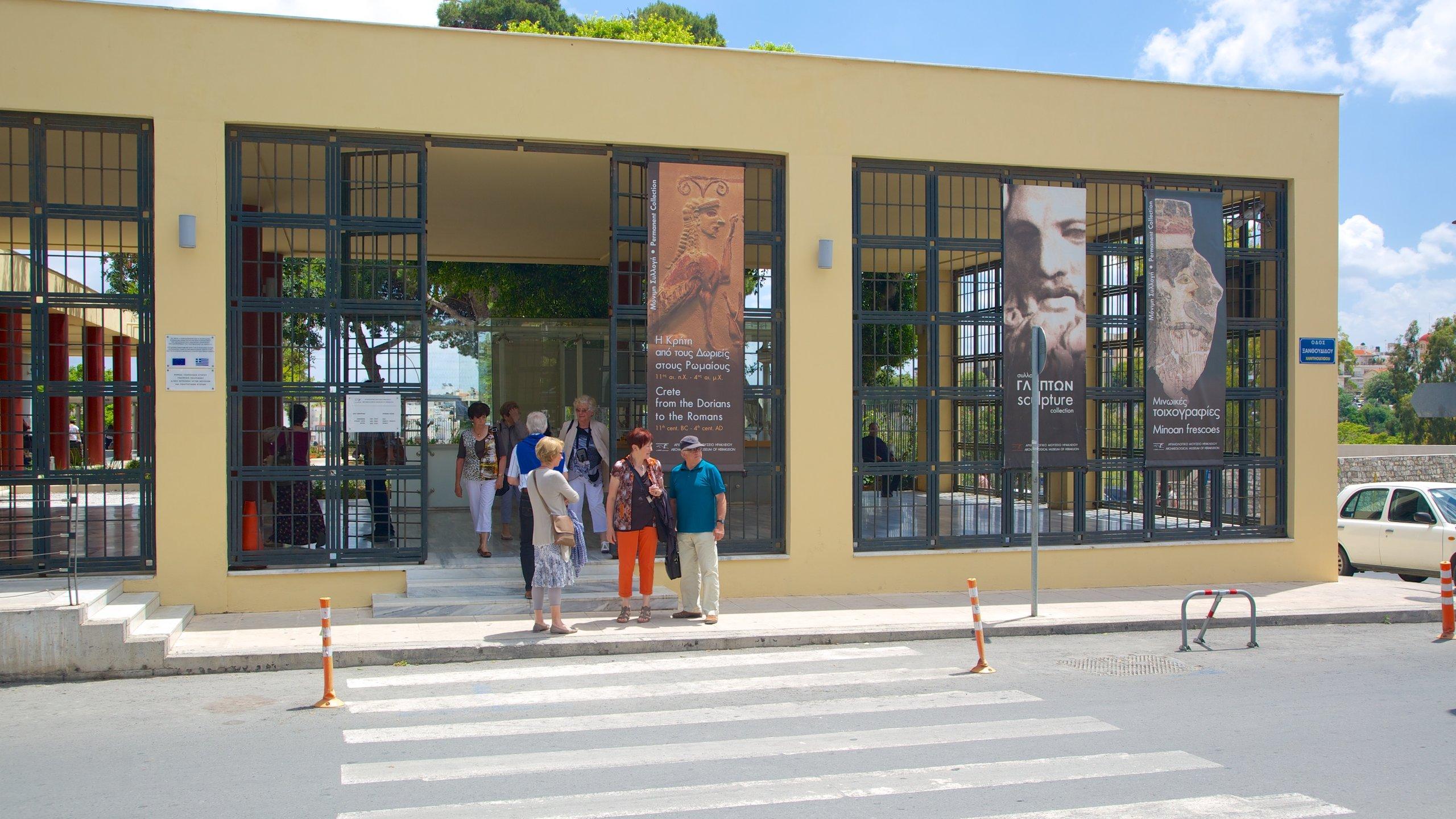 Archäologisches Museum von Heraklion, Heraklion, Kreta, Griechenland