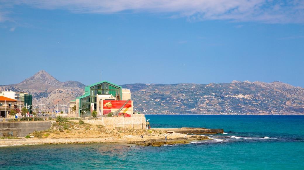 Naturhistoriska museet i Kreta som visar kustutsikter