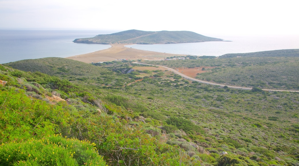 Prassonissi which includes general coastal views and tranquil scenes