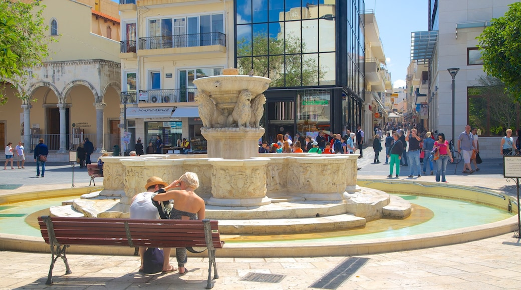 Morosini-Brunnen das einen Springbrunnen