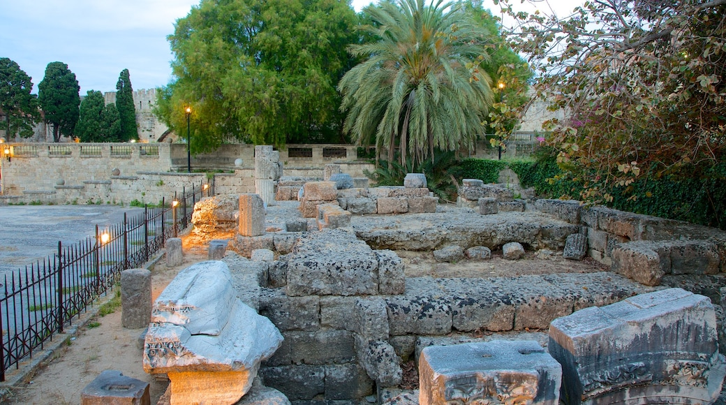 Temple of Aphrodite showing a ruin
