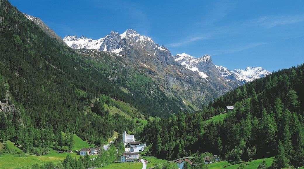 Sankt Leonhard im Pitztal showing a small town or village