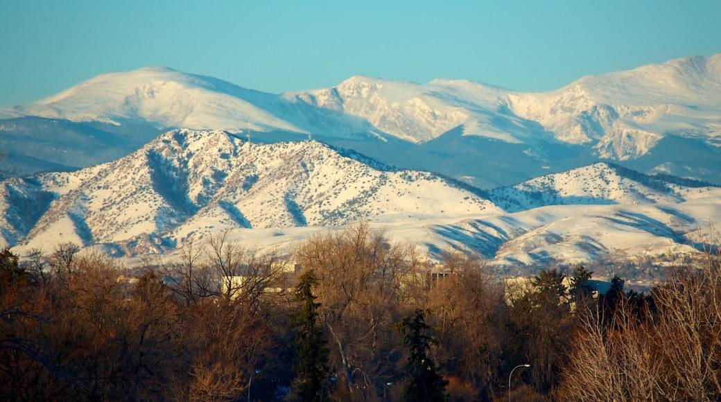 Colorado og byder på sne og bjerge