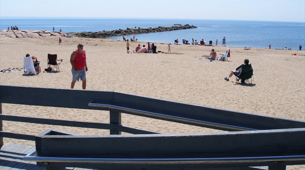 Connecticut featuring a sandy beach