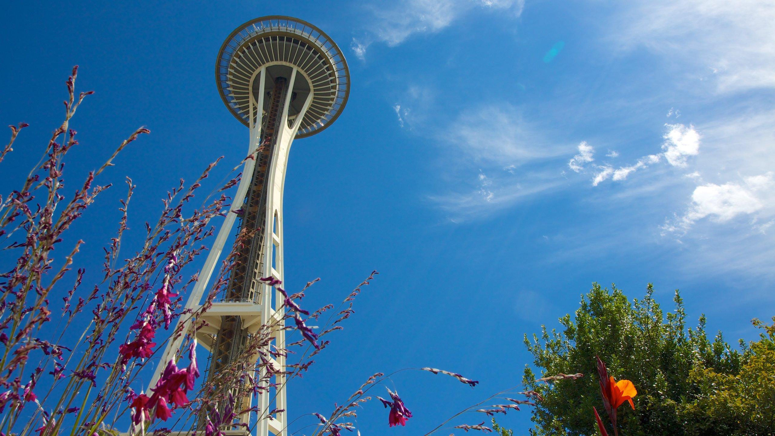 Det er lett å kjenne igjen Seattles skyline når du ser denne store, slanke konstruksjonen som ble bygget til verdensutstillingen i 1962.