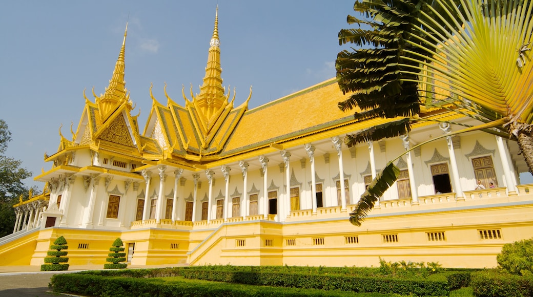 Cambodia showing a temple or place of worship