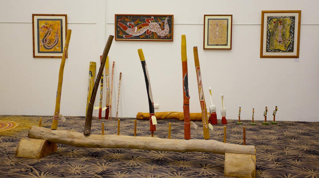 Jabiru showing art