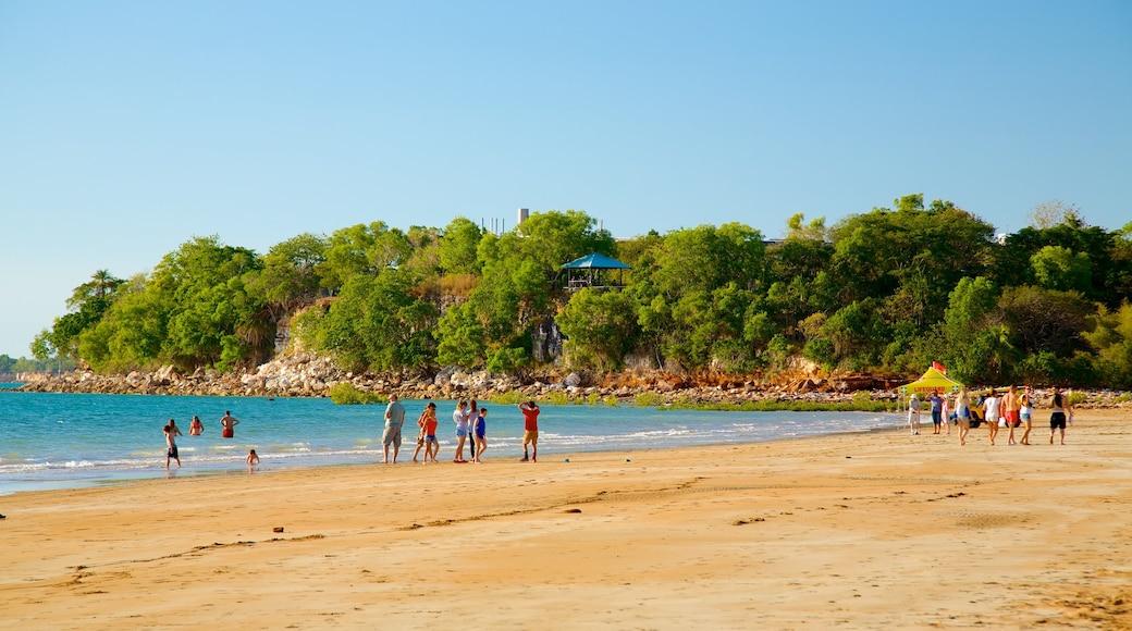 Mindil Beach which includes a beach