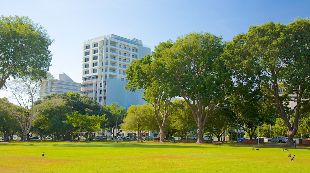 Bicentennial Park showing a park