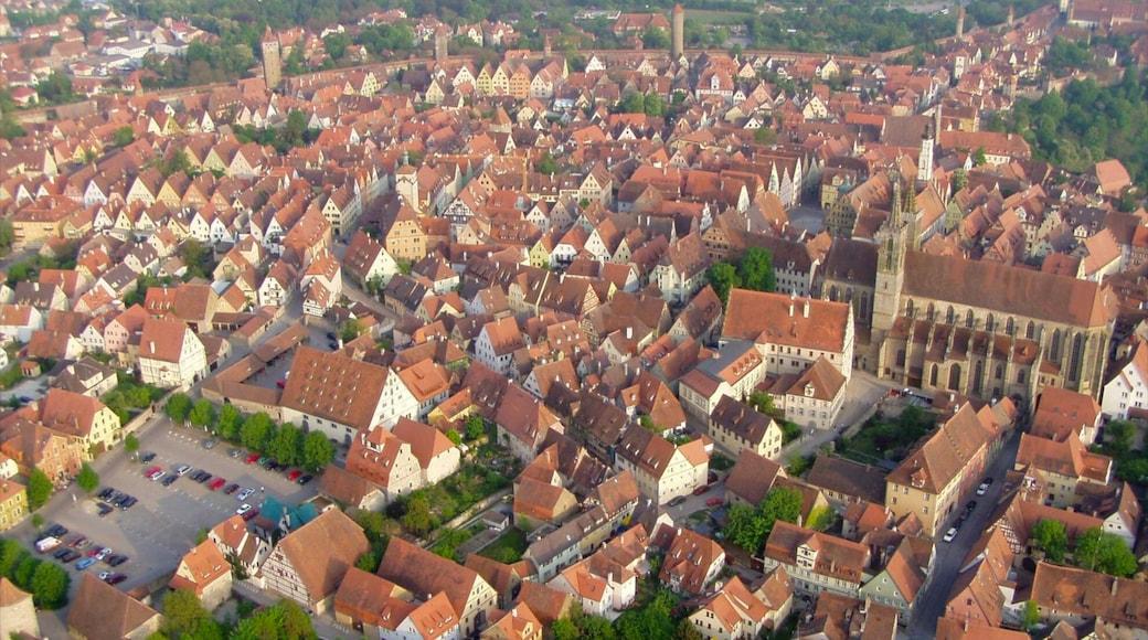 陶伯河上游羅騰堡 设有 城市
