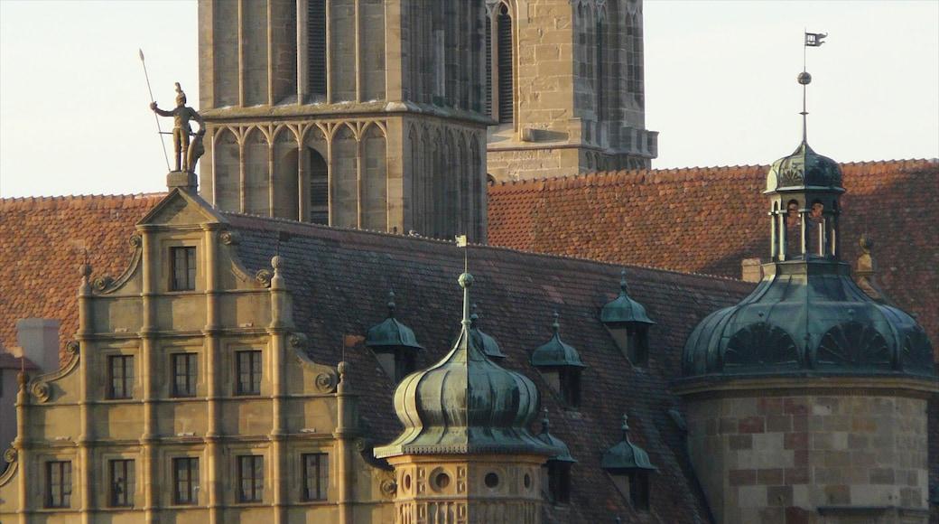 陶伯河上游羅騰堡 设有 歷史建築