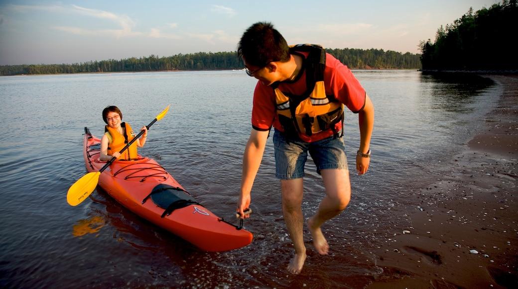 Prince Edward Island featuring kayaking or canoeing