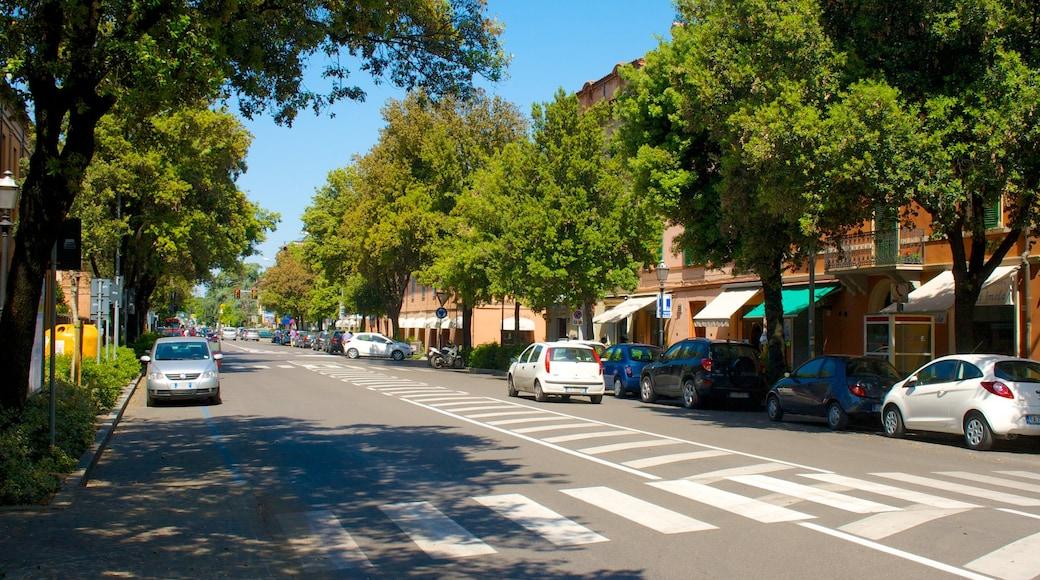 Imola fasiliteter samt by og gatescener