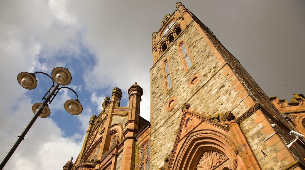 Ireland featuring a church or cathedral and heritage architecture