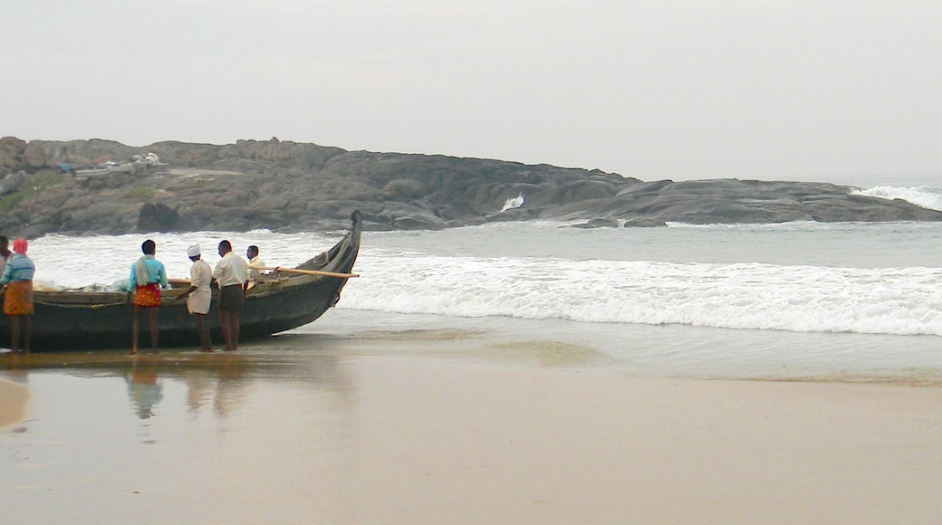 Kovalam featuring indigenous culture and general coastal views