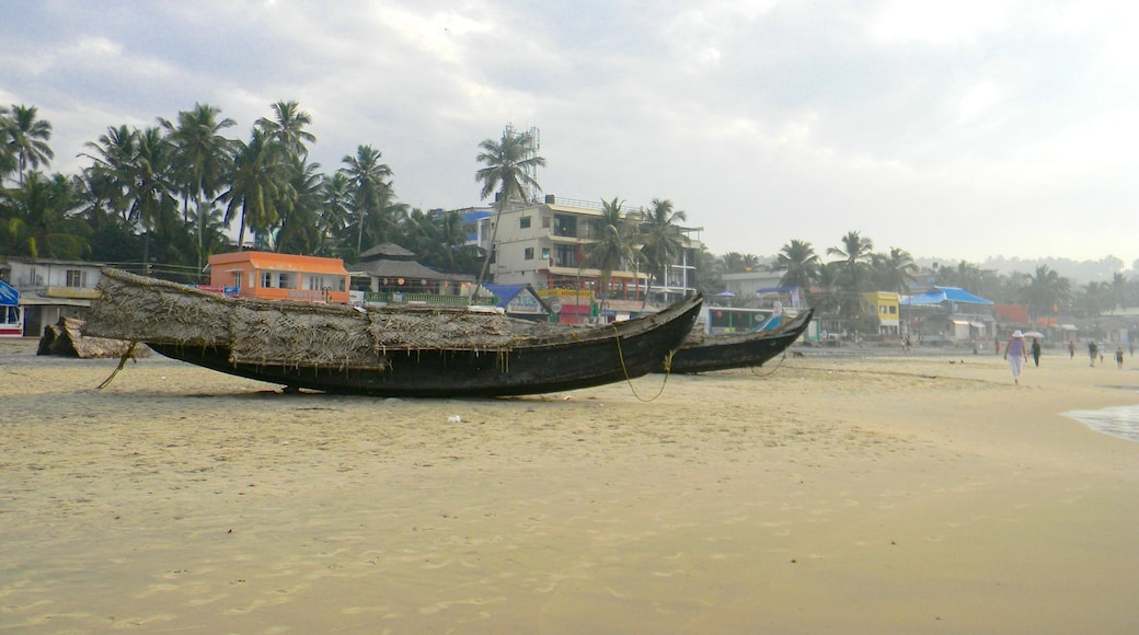 Kovalam featuring a sandy beach