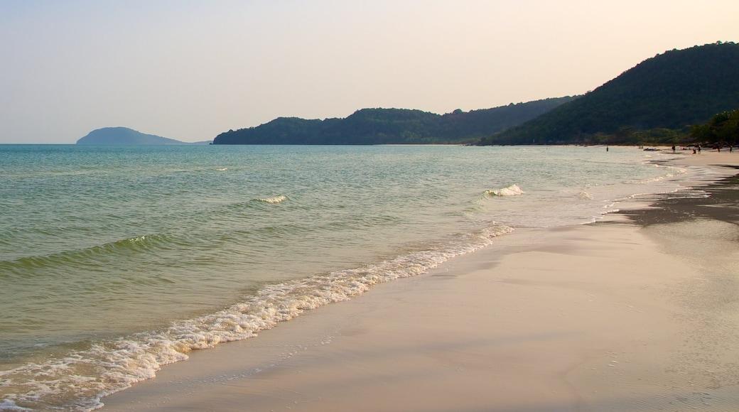 Vietnam featuring a sandy beach