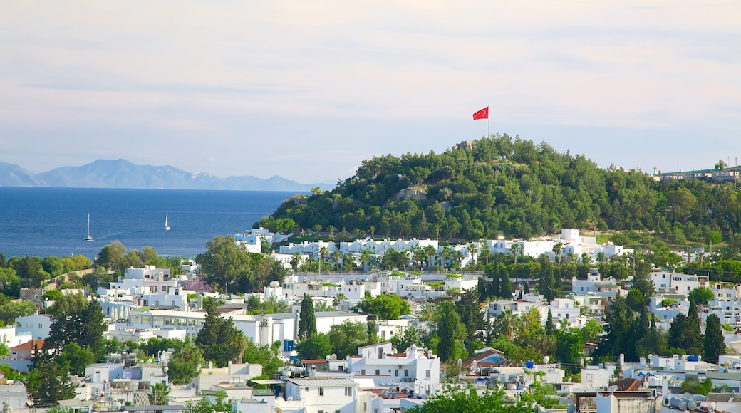Bodrum featuring a coastal town
