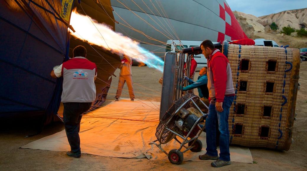 Cappadocia featuring ballooning
