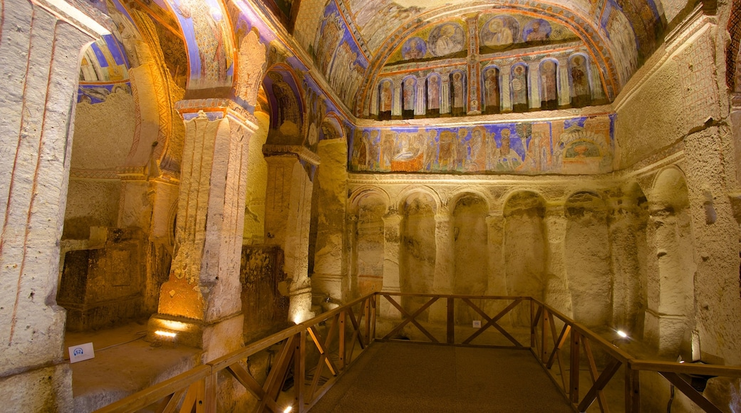 Cappadocia showing interior views and heritage architecture