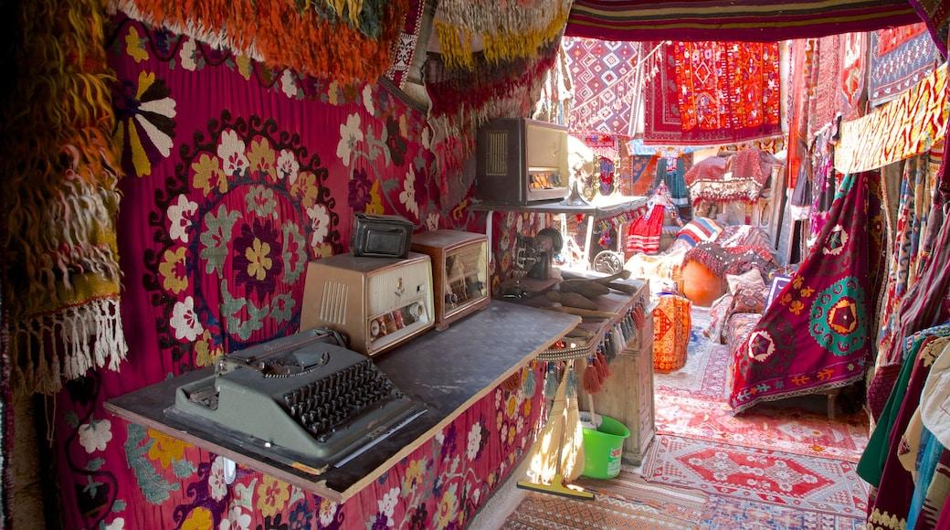 Cappadocia which includes interior views