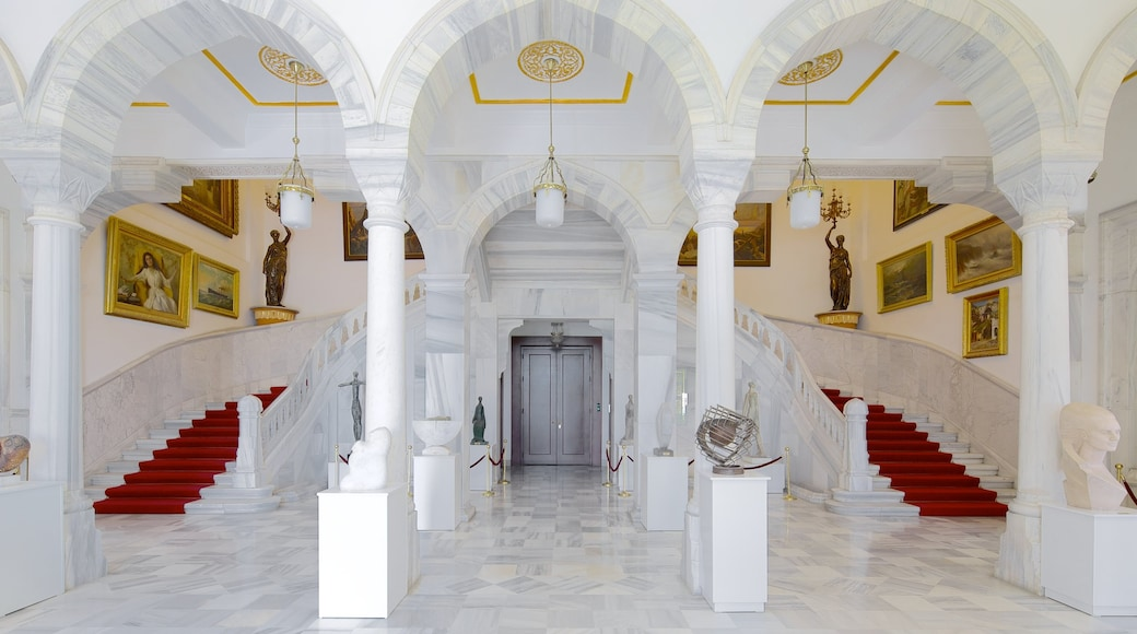 State Art and Sculpture Museum featuring interior views and a castle
